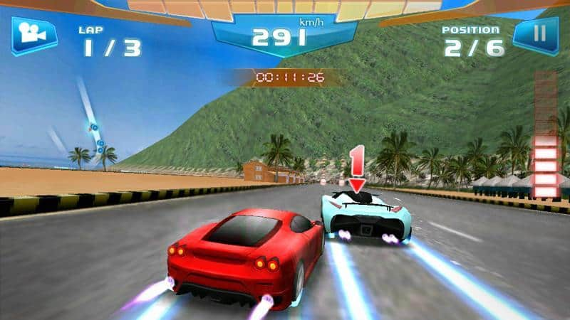 Download Fast Racing 3D Mod Apk for Android