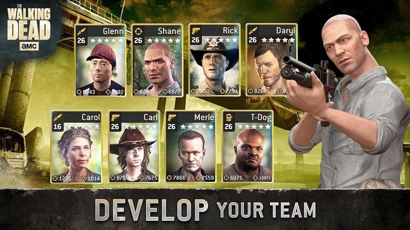 Manage your battle squad