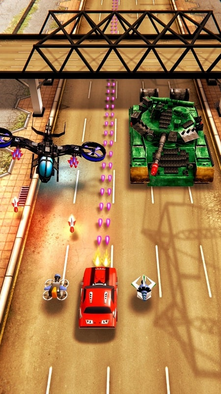Tải Chaos Road: Combat Racing Mod Apk dành cho Android