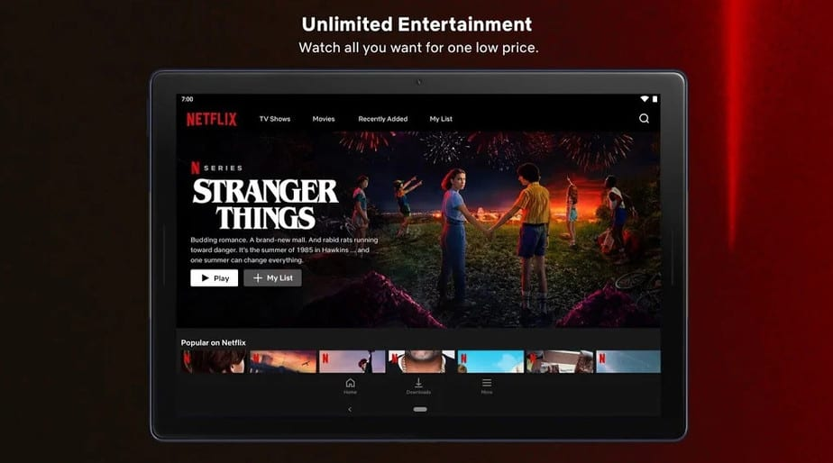 Expansive Movie and TV Shows Collection