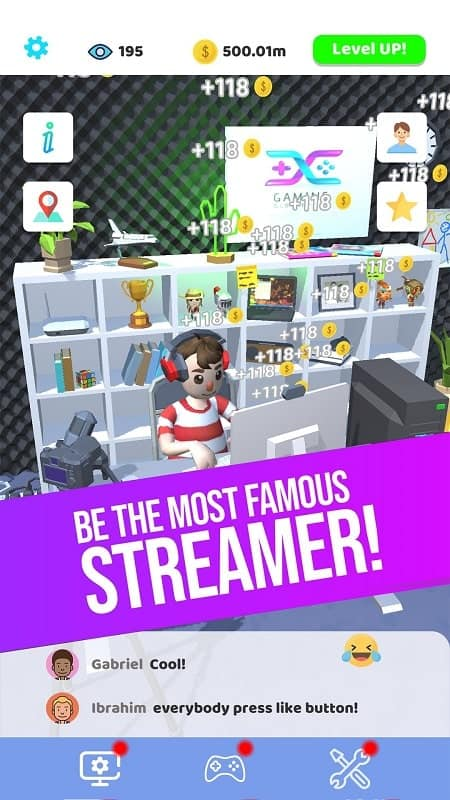 Idle Streamer!
