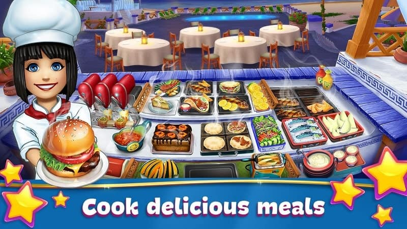 Download Cooking Fever - Restaurant Game Mod Apk for Android