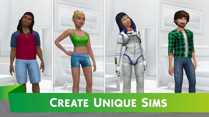 Download The Sims™ Mobile Mod Apk for Android