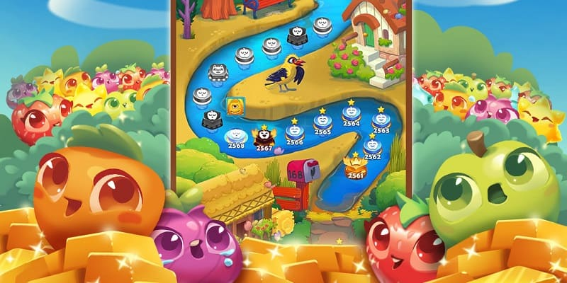 Download Farm Heroes Saga Mod Apk for Android