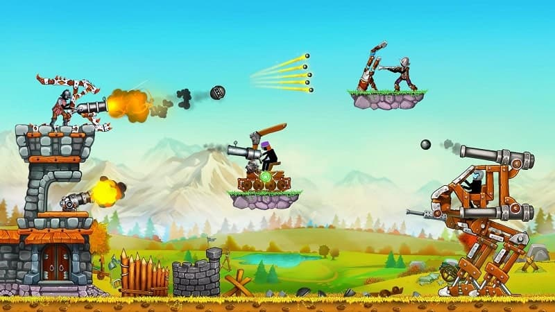 Download The Catapult 2: Grow Castle Mod Apk for Android