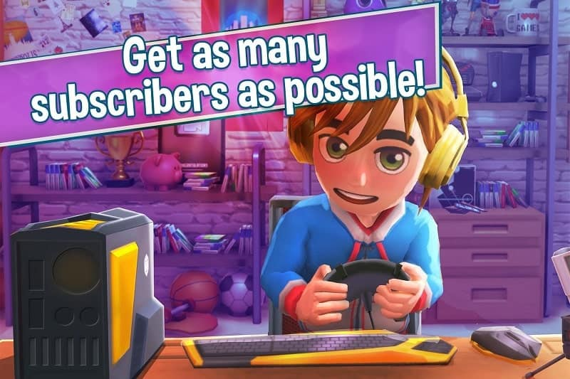 Download Youtubers Life Mod Apk for Android