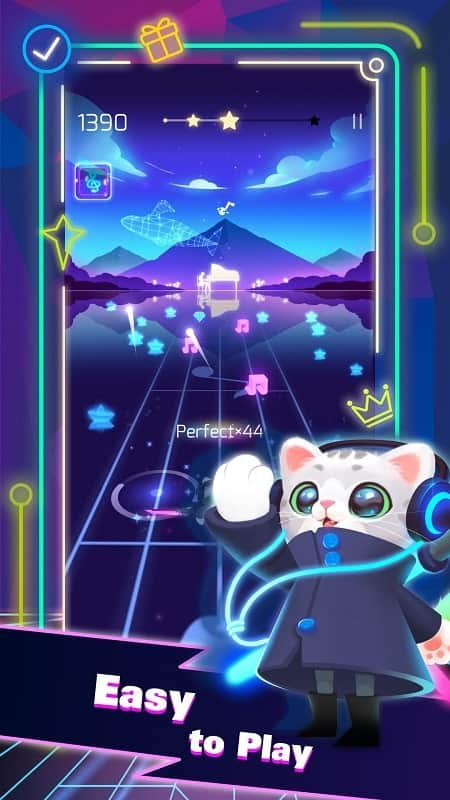 Download Sonic Cat - Slash the Beats Mod Apk for Android