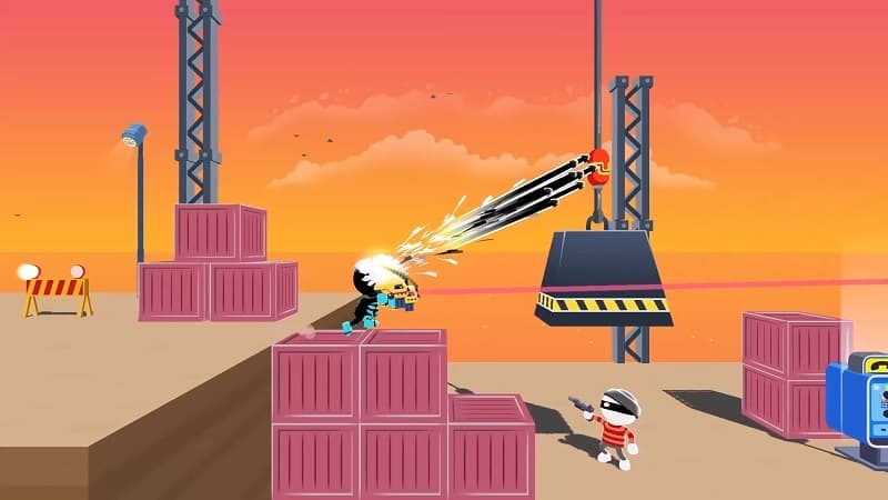 mod Johnny Trigger - Action Shooting Game