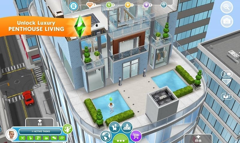 Download The Sims FreePlay Mod Apk for Android