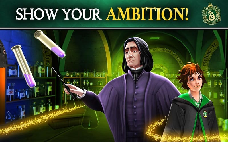 Play the role of a talented wizard