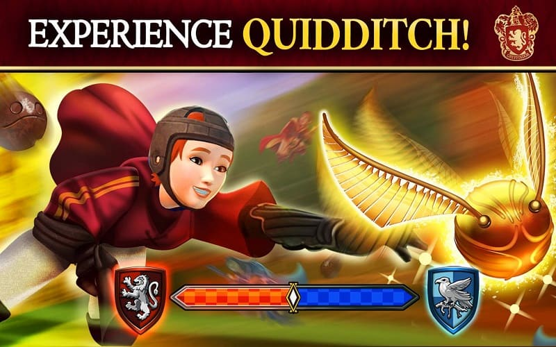 Do your best in a Quidditch match