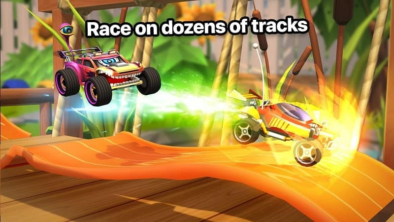 Download Nitro Jump Racing Mod Apk for Android
