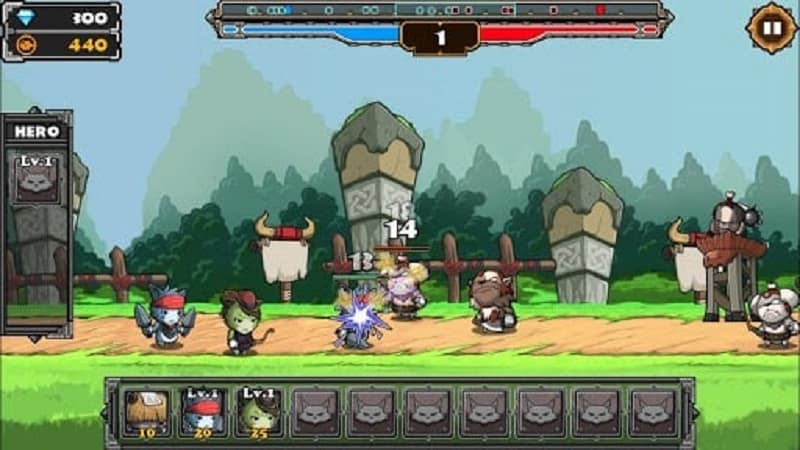 mod Cat War2 android download link