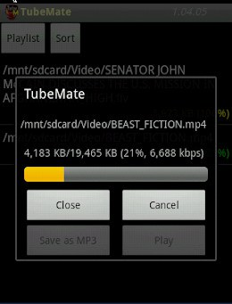 New features in Tubemate
