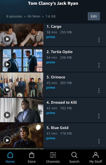 Có gì mới trong Amazon Prime Video Mod