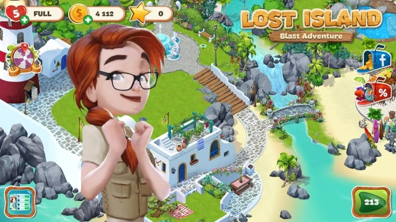 download Lost Island Mod android