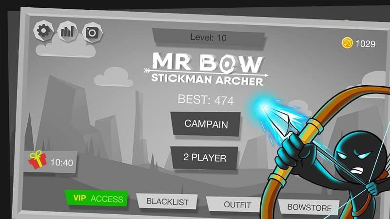 tải Mr Bow bản mod cho android