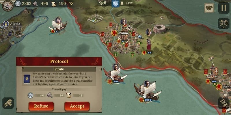 Conquest mode