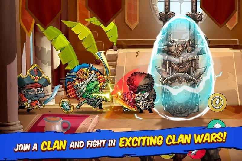 Tiny Gladiators mod ver for android