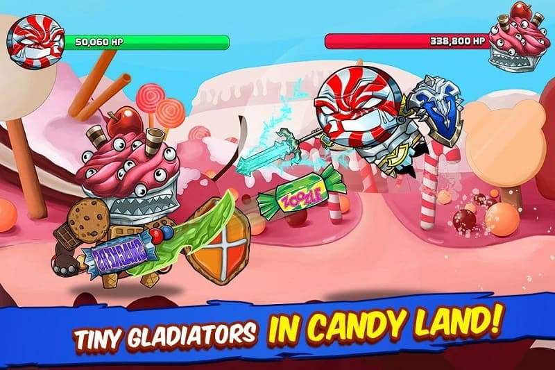 Tiny Gladiators - Fighting Tournament