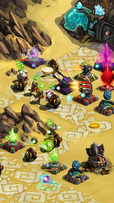 Download Ancient Planet Tower Defense Offline Mod Apk for Android