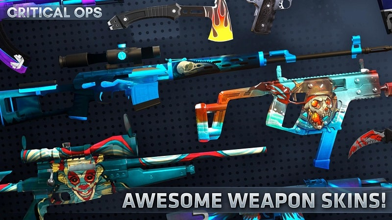 Critical Ops mod for android phone