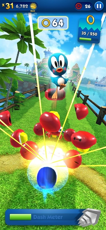 Download Sonic Dash Mod Apk for Android