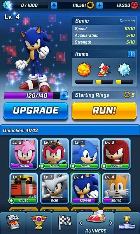 Download Sonic Forces Mod Apk for Android