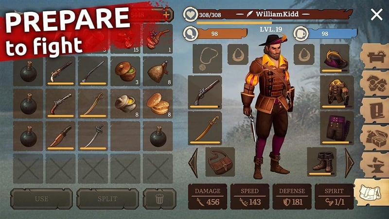 Download Mutiny Pirate Survival RPG Mod Apk for Android