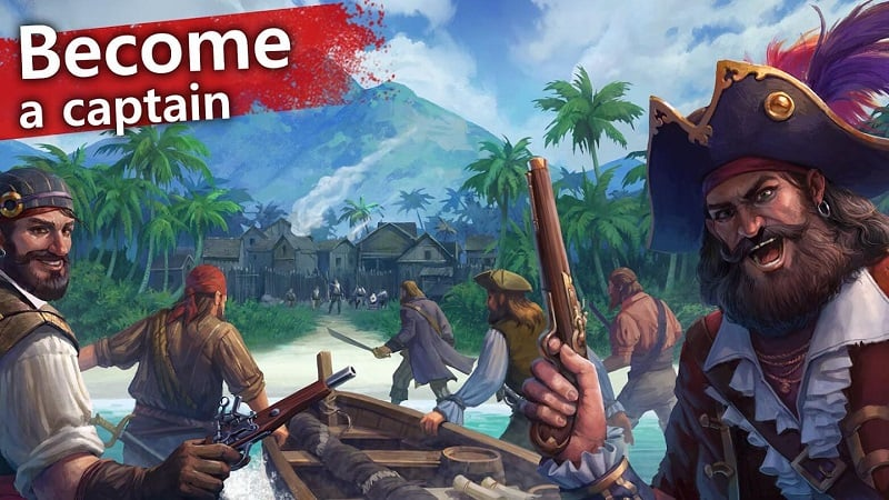 Mutiny Pirate Survival RPG